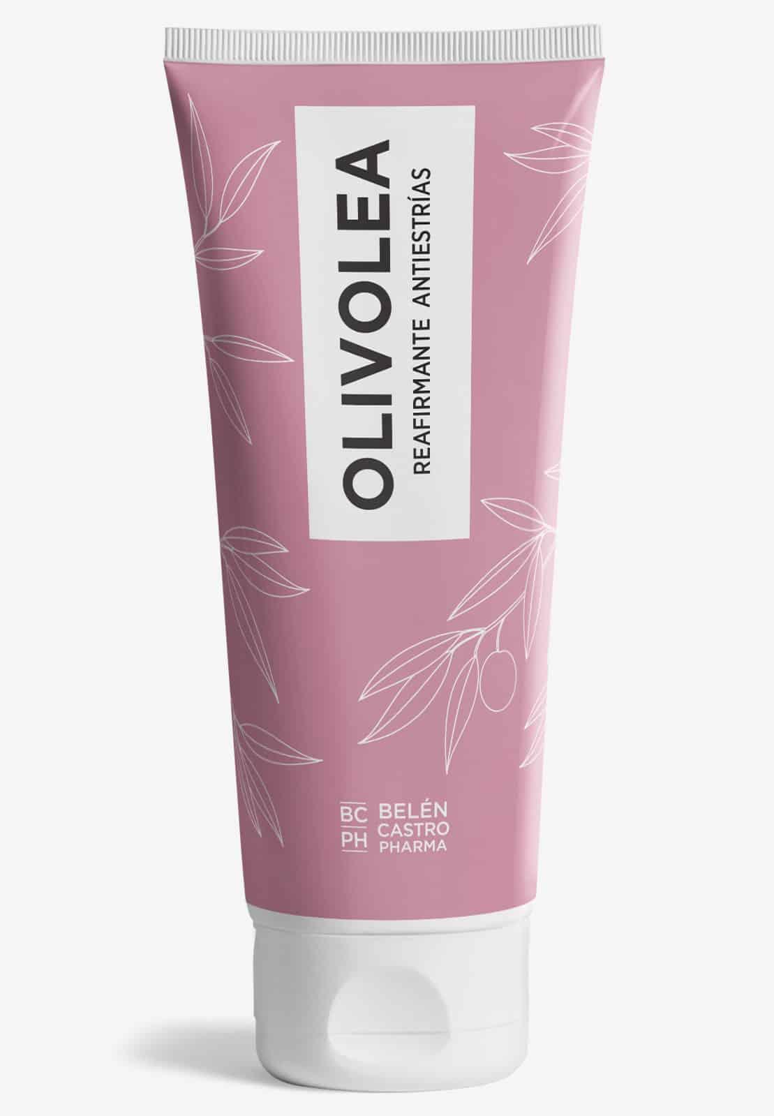 crema antiestrías reafirmante olivolea